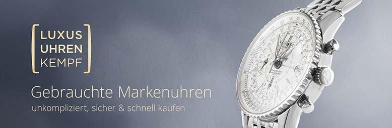 LUXUSUHREN Kempf Verkauf gebrauchter Luxusuhren